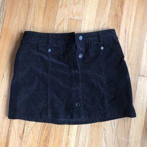 Dresses & Skirts - Corduroy Button Skirt